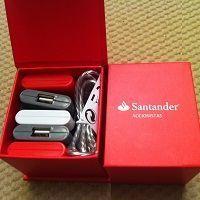Obsequio por asistencia a la junta de accionistas del Banco Santander en 2016