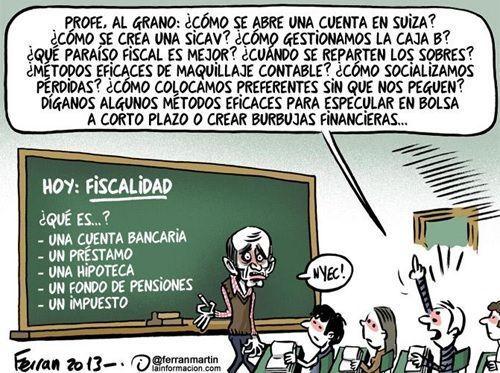 La educacion financiera en la enseñanza reglada
