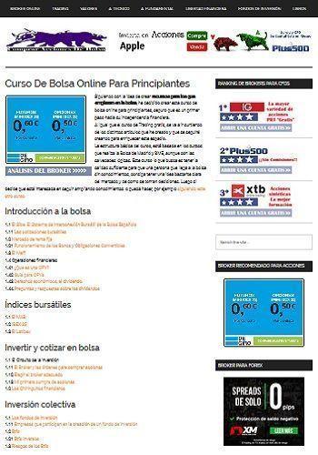 Curso de bolsa online para principantes de Comprar Acciones de Bolsa
