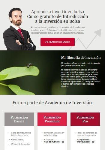 Academia de inversión