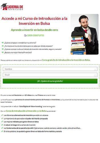 Curso de introducción a la inversión en bolsa, de Academia de Inversion
