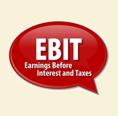 EBIT Earnings before interest and taxes