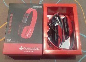 Obsequio por la asistencia a la junta de accionistas de 2017 del Banco Santander
