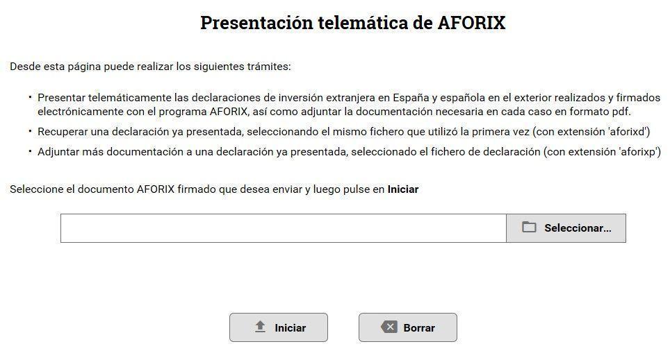 El modelo D-6 y la declaración de titulares de inversión española en ...