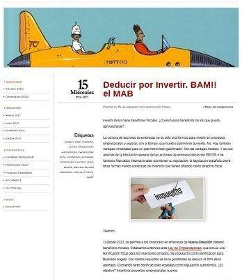 El Alcabalero, blog de planificacion fiscal